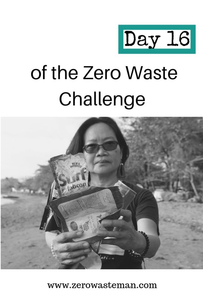Day 16 of the zero waste challenge