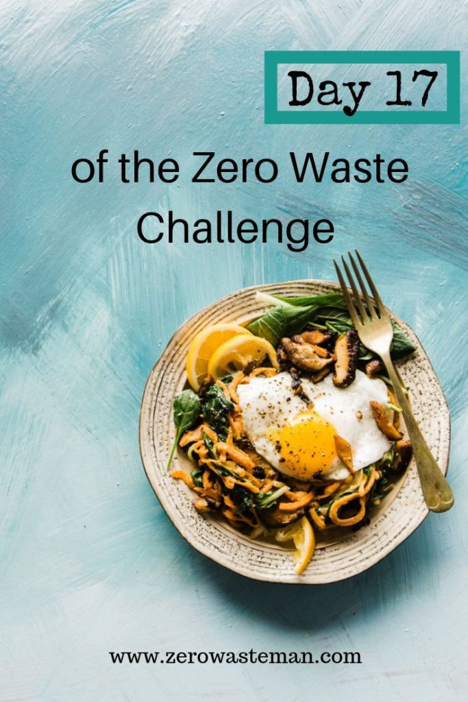how to waste less food