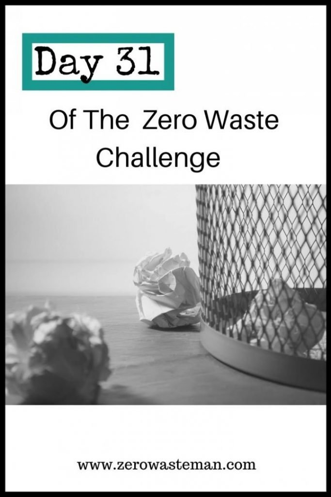 trash audit zero waste challenge